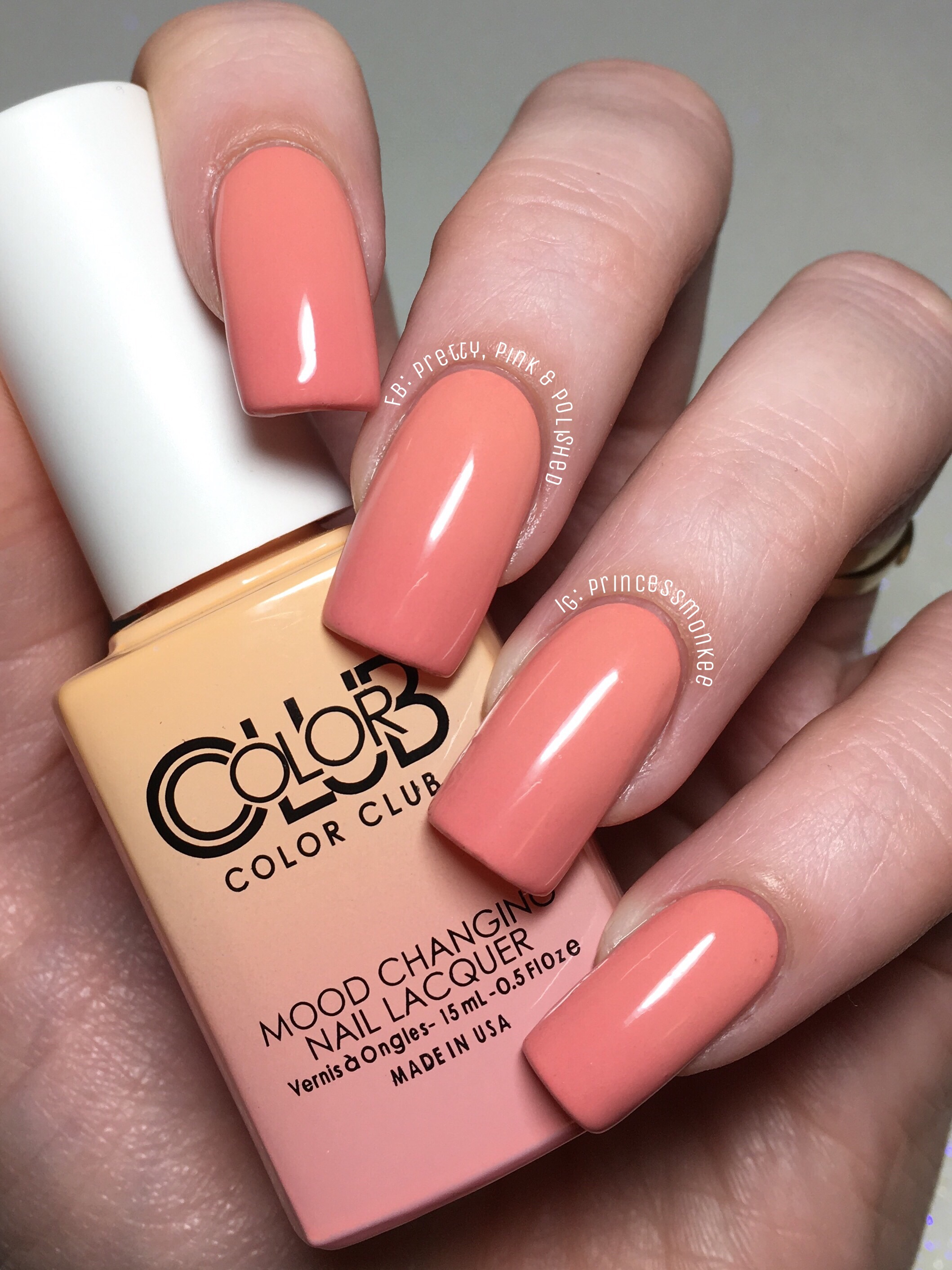 Color Club Thermal Polishes